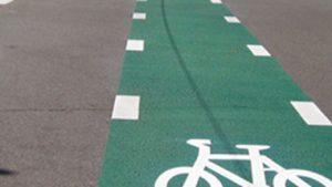 Bus and Bike Lanes