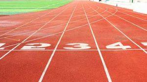 Stadium line markings