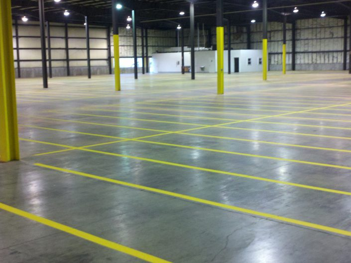 warehoue linemarking